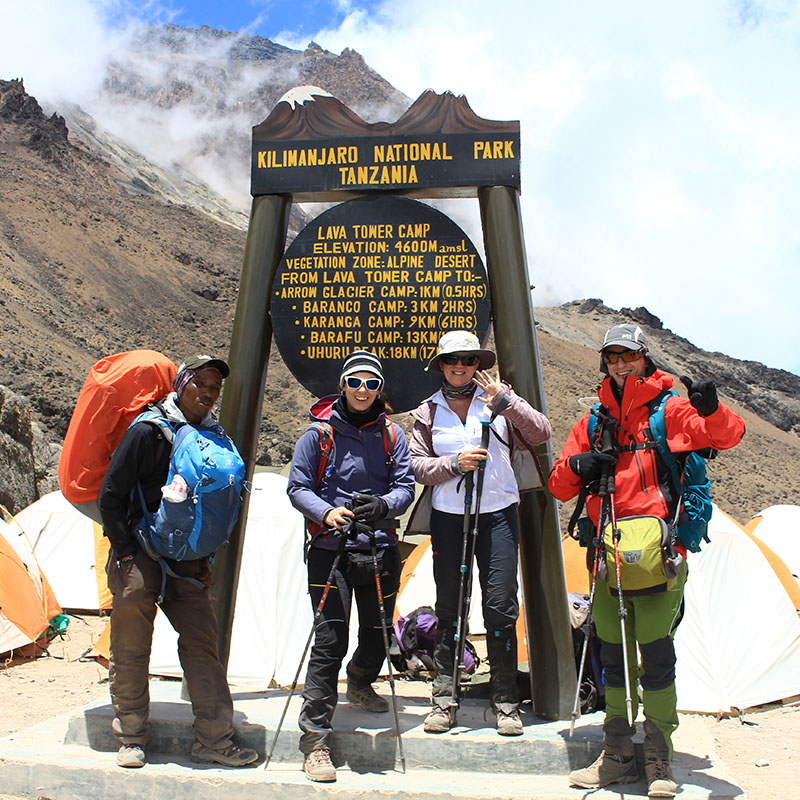 Machame route 7 days